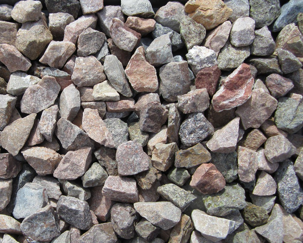 Screened Landscape Rock Selection. Apache Brown 1