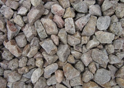 "Desert Gold 3/4"" Screened landscape rock"