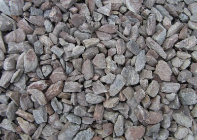 "Gila Brown 1/2"" screened landscape rock"