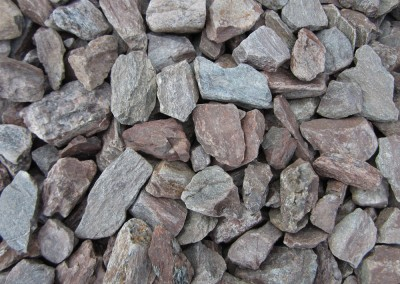 "Gila Brown 1"" screened landscape rock"