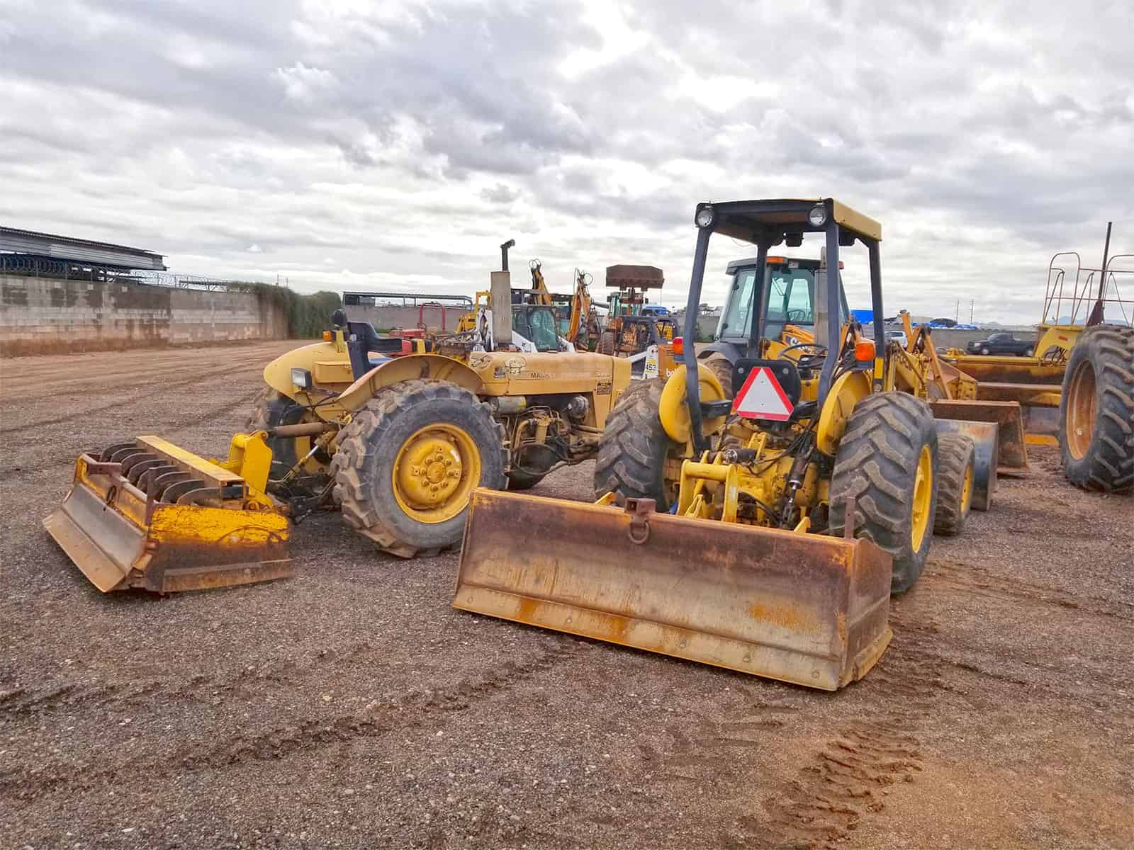 land grading and excavation services