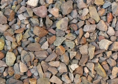 "Mountain Vista Brown 1/2"" Screened landscape rock"