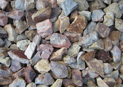 "Palomino Gold 3/4"" Screened landscape rock"